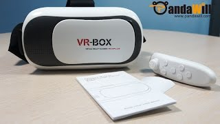 VR Case VR BOX 2.0 Version 3D Glasses
