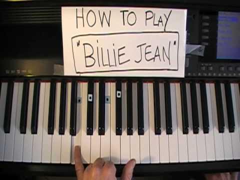 Comment jouer Billie Jean de  Michael Jackson au Piano