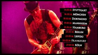 SCORPIONS - 50th Anniversary World Tour