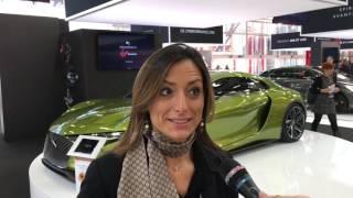 Motor Show 2016 Bologna – Stand DS Auto con Elena Fumagalli