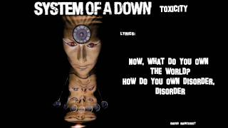 System of a Down Toxicity[Lyric video]