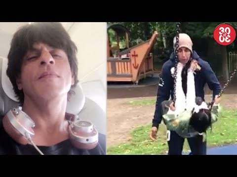 Shahrukh Departs From LA For 'JHMS' Promotions | Nitara Gets Dad Akshay Off Balance