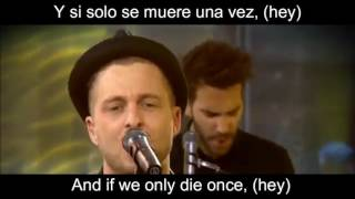 OneRepublic Something I need [Live] subt. español e ingles