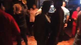 Sonya & Darron enjoying the Knock Knock Who Dat Dance floor with Big Al