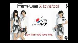 Perfume - 「Lovefool」ssBullet Pepsi Nex Remix with English Lyrics