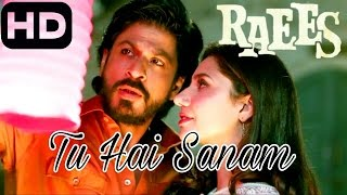 Tu Hai Sanam  RAEES 2017 Full Song  Arijit Singh  Shahrukh Khan,Mahira Khan   YouTube