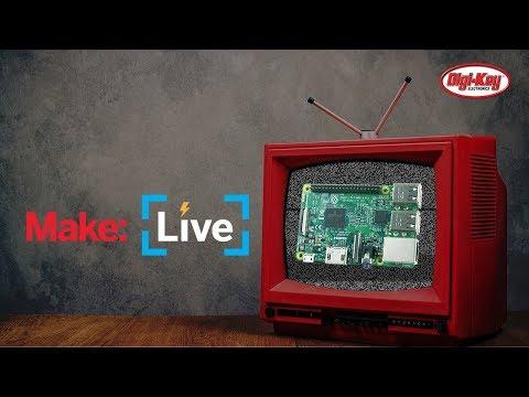 Make: Live - Raspberry Pi Plex Server