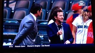Eddie Vedder at Angels vs. Mariners May 29, 2014