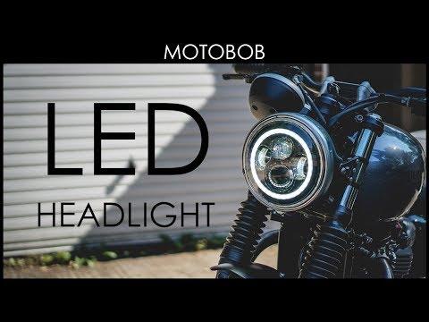 LED Headlight For Triumph Street Twin