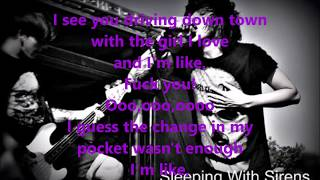 Fuck You by: Sleeping with Sirens |Lyric Video|