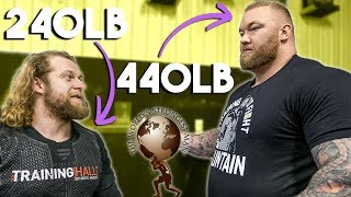 WORLD'S STRONGEST MAN MAKES BODYBUILDER LOOK SMALL
