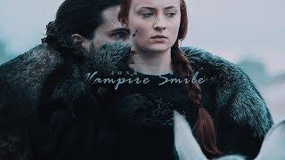 Jon & Sansa [Vampire Smile]
