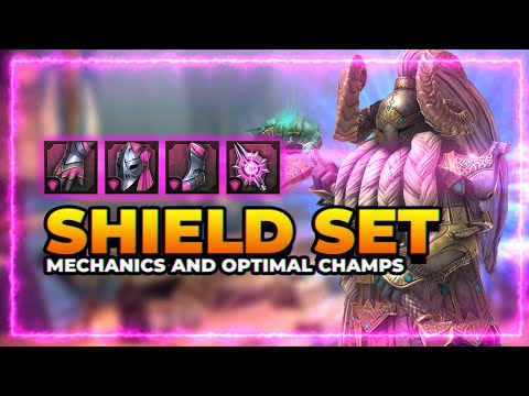 SHIELD SET! | Mechanics & Optimal Champs | RAID Shadow Legends