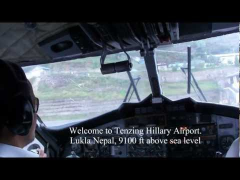 **IS THIS THE MOST DANGEROUS AIRPORT IN THE WORLD*** LUKLA – NEPAL – HIMALAYAS