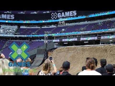 Brian McCarty wins Moto X QuarterPipe High Air bronze | X Games Minneapolis 2017