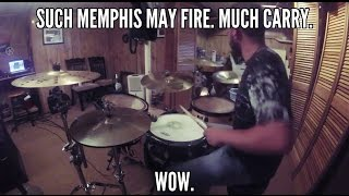 SallyDrumz - Memphis May Fire - Carry On Drum Cover