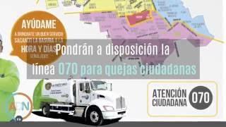 Reorganizan recolección de basura en Querétaro