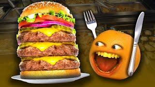 EATING CHALLENGES SUPERCUT!   Annoying Orange