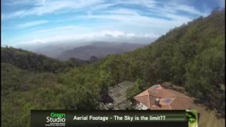 Aerial Footage - Serra Malagueta, ilha de Santiago, Cabo Verde