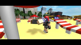 Life in cool beach resort roblox tummy stuffing animation