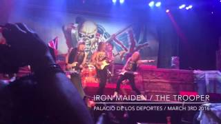 Iron Maiden / The Trooper live in México City March 4th 2016