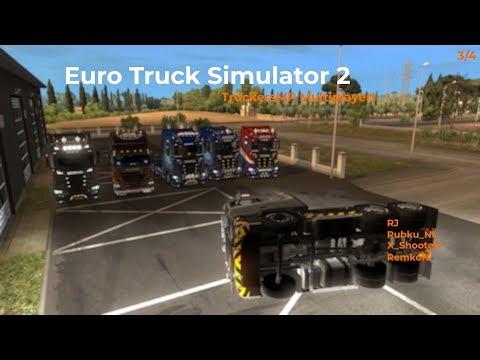 Euro Truck Simulator 2  TruckersMP  Part 34 Opname 07122017