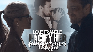 ►Love triangle ●  Felicity+Oliver+Laruel