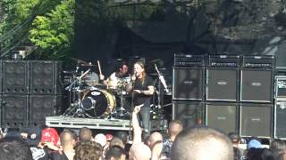 99.5 Kiss Summer Swelter - Drowning Pool - Bodies (Intro) San Antonio,TX 7-24-10,