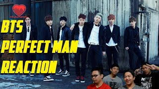 [4LadsReact] BTS - Perfect Man | MBC Gayo 2015 Reaction