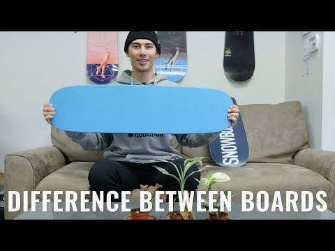Difference Between The Jib & Tramp Board