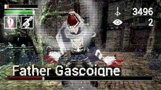 Bloodborne PS1 Demake\'s Father Gascoigne Boss Fight Looks Superb