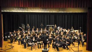 JHU Wind Ensemble Fall 2011 - Variations on a Shaker Melody