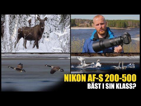 Nikon AF-S 200-500/5,6E ED VR - Bäst i sin klass?