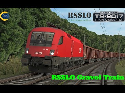 RSSLO Gravel Train | ÖBB 1016 | Train Simulator 2017