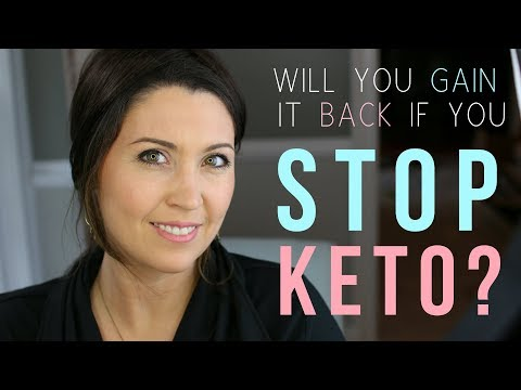 What Happens If You QUIT Keto? Will You Regain The Weight?   Ashley Salvatori