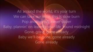 Afrojack featuring. Ty Dolla $ign - Gone (Lyrics)