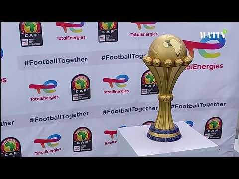 Video : Le Trophée de la CAN fait escale à Casablanca