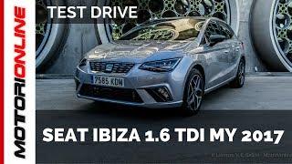 Nuova Seat Ibiza Diesel 1.6 TDI | Anteprima Test Drive
