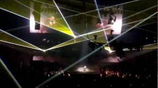 "JESUS WALK WITH ME LIVE ""WATCH THE THRONE"" JAY-Z & KANYE WEST"