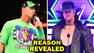 Shocking Reasons Why The Undertaker Never Answered John Cena's Challenge for WrestleMania 34