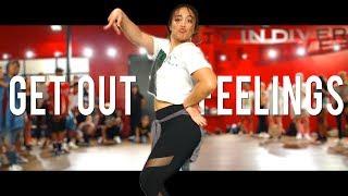 YG - Get Out Yo Feelings | Choreography With King Guttah