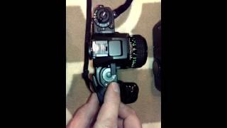 Canon film camera shutter sound