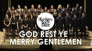 God Rest Ye Merry Gentlemen - Hladnov Rock Choir (Pentatonix cover) live