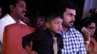 Surya Jyothika Son Dev Dance Performance Exclusive Video | 36 Vayathinile Audio Launch ( HQ )