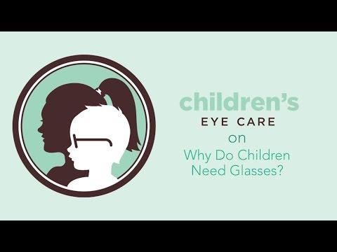 Children's Eye Care I Why Do Children Need Glasses?