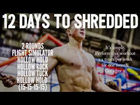 12 Days to Shredded Abs Workout Challenge