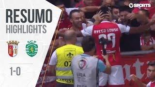 Highlights | Resumo: Sp. Braga 1-0 Sporting (Liga 18/19 #5)