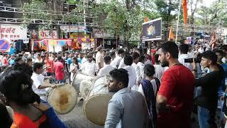 Chandrakor Dhol Tasha Pathak | Ganpati Aagman Sohala 2017
