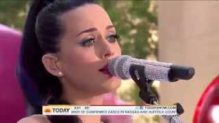 Katy Perry - I kissed a girl live at Today Show HD - Best Performance I kissed a girl directo 1080p
