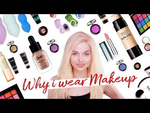 WHY I WEAR MAKEUP! // MyPaleSkin | ad